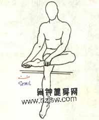 前踝和脚背的4种拉伸方法