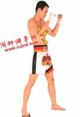 泰拳标准格斗势的训练方法