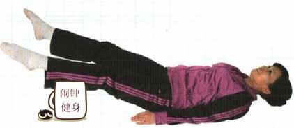 活动下肢的仰卧蹬腿运动练法详解