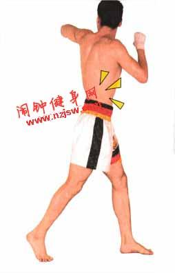 泰拳左右反肘练习图解教程