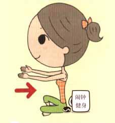 内收外展肩胛骨活动肩膀的小动作