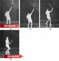 反手吊直线球的正确方法教学图解