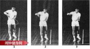 反手发球的正确方法图片详解