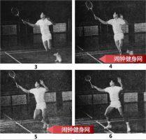 上网推对角线球的正确练法教学图解
