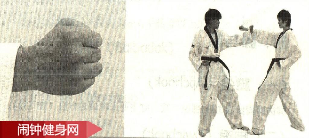 跆拳道《手首》(Palmok)动作教学图解