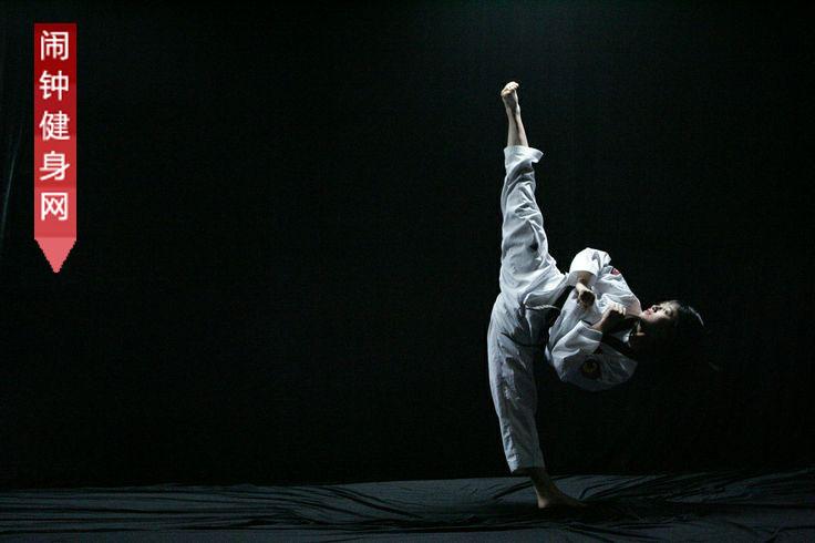 跆拳道站法姿势图解教学(10个)