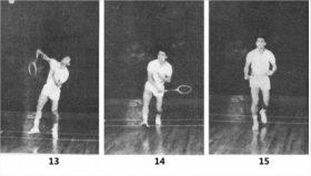 移动起跳杀直线球的正确练法图解教学