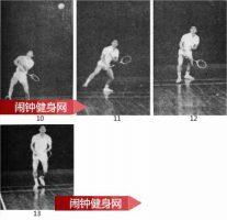 原地起跳杀直线球的正确方法教学图解