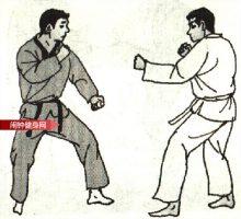 跆拳道《腾空反转踢击脖子》图解教学
