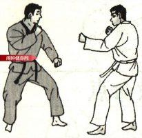 跆拳道《半月踢肘接回转踢脖子》图解教学