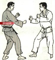 跆拳道《击肋攻心接击人中》图解教学