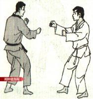 跆拳道《侧踢手刀击脖接肋击颌部》图解教学