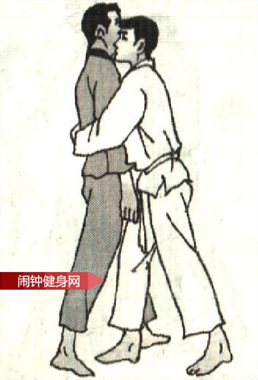 跆拳道《解脱抱腰反折腰掐脖》图解教学