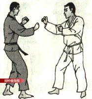 跆拳道《转身踢腹和脸接拧转踢腹》图解教学