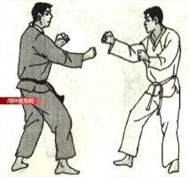 跆拳道《挑肘平拳接肘击颌部》图解教学