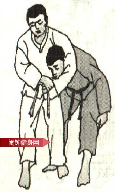 跆拳道《解脱搂脖反背扭手》图解教学