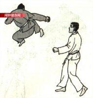 跆拳道《腾空转体360°侧踹脸部》图解教学
