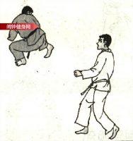 跆拳道《腾空后踹胸骨》图解教学