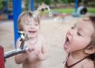 夏天宝宝喝水