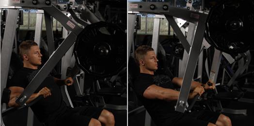 一天健身增肌训练计划【6动作组数安排】