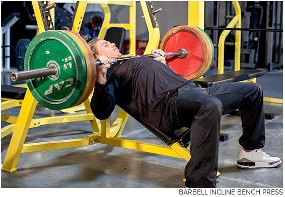 锻炼上胸肌的训练计划