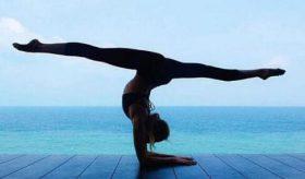 瘦小腿瑜伽,塑腿型的的简单瑜伽动作,腿很粗不敢跑步的好方法