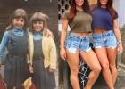 英国健身双胞胎女孩肌肉强壮,只约会比自己更强壮的男人!