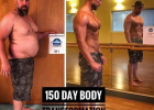 为了成为儿女的榜样,5个月减掉70斤的超励志大叔