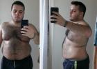 240斤胖小伙通过跳绳和饮食控制甩掉了大肚腩