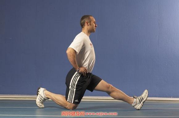 腘绳肌拉伸练习