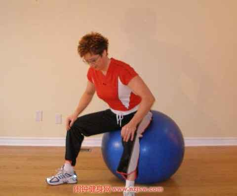 促进分娩顺利进行的瑜伽球练习法该怎么做